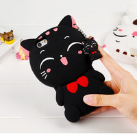 Cat Soft phone case