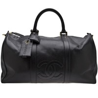 Chanel Vintage 'boston' Tote Bag - What Goes Around Comes Around - Farfetch.com