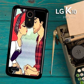 Ariel And Erick Punk Kiss Disney Princess V1430 LG K10 2017 / LG K20 Plus / LG Harmony Case