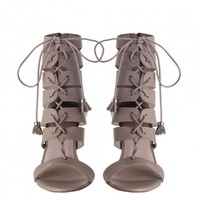 Tassel Hybrid Sandal - The Latest