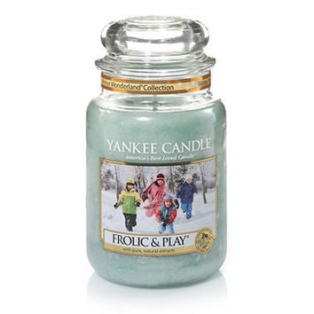 Winter Wonderland© Collection (Frolic and Play©) : Large Jar Candles : Yankee Candle