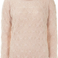 Rose pretty stitch jumper - View All New In   - What's New