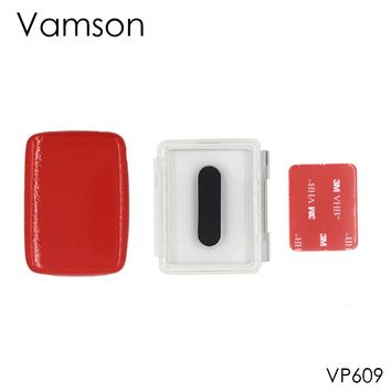 Vamson for Gopro Accessories Waterproof Housing Backdoor Back Cover Dive Floaty Sponge Sticker for Gopro Hero 3 2 1 VP609