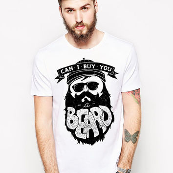 Can I Buy You A Beard - Funny Beard Tshirt - Awesome Beard - Movember Shirt - Facial Hair - Hockey Playoffs - I Love My Beard