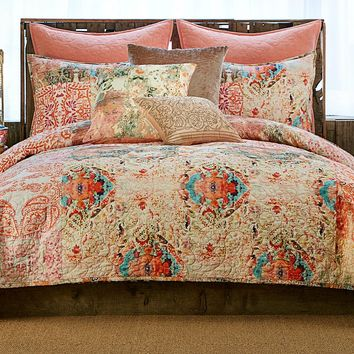 Poetic Wanderlust by Tracy Porter Wish Cotton Voile Quilt | Dillards