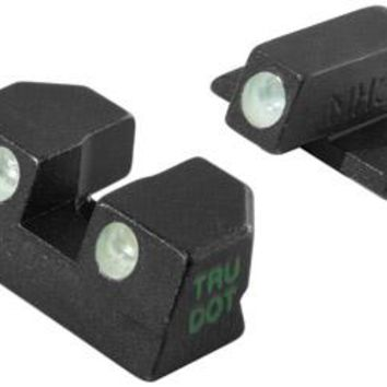 Meprolight Tru-Dot Sight, Fits Springfield XD, Green/Orange, Fixed