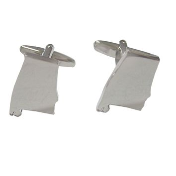 Alabama State Map Shape Cufflinks
