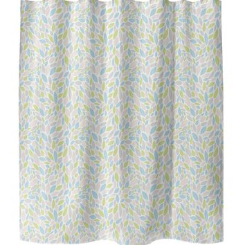 AUTUMN SPRING PINK Shower Curtain By Tiffany Wong