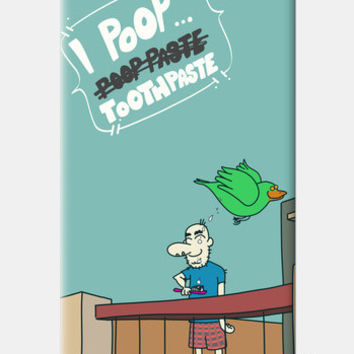 I Poop ToothPaste iPhone 5 Cases | Artist : Nitin Kapoor
