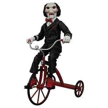 Saw Billy the Puppet with Tricycle 12-Inch Action Figure - NECA - Horror: Saw - Action Figures at Entertainment Earth