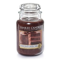 Chocolate Layer Cake : Large Jar Candles : Yankee Candle