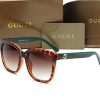Gucci Fashion Sunglasses Vintage Fashion Metal Frame Mirror Sun Glasses Unique Flat Sunglasses G-YJ-LHSTCYJC