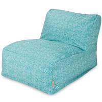 Teal Navajo Bean Bag Chair Lounger