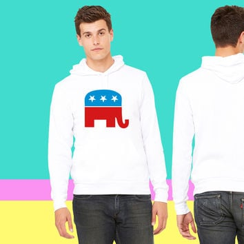 Republican Elephant sweatshirt hoodiee