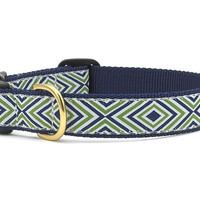 Diamond Stripe Dog Collar