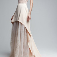 Sleeveless Embellished Gown | Moda Operandi