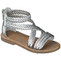 Toddler Girl's Cherokee® Java Sandal - Silver