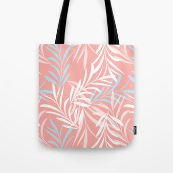 Tender Leaves Tote Bag by mirimo