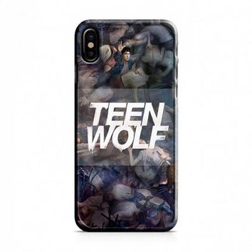 Teen Wolf Sesion 5 iPhone X Case