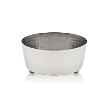 HAMMERED FINISH RELISH BOWL