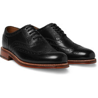 Grenson Angus Leather Wingtip Brogues | MR PORTER