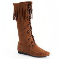Bayfield Women's Lace-Up Fringe Boots