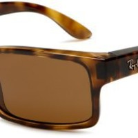 Ray-Ban Men's ORB4151 Rectangle Polarized Sunglasses