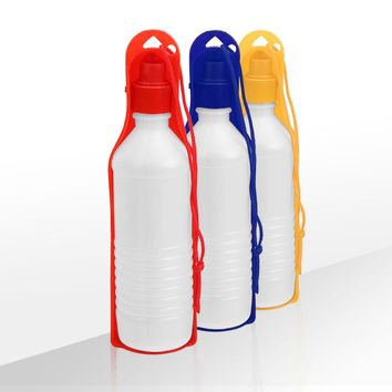 Portable Foldable Pet Travel Water Drinking Bottle