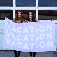 Beach, Please! Giant Beach Towel - Vacation