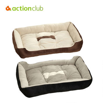 6 Sizes High Quality PP Cotton Pet Beds For Large Pets  Cats