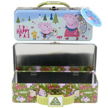 Peppa Pig Deluxe Pencil Case with Handle - CASE OF 24