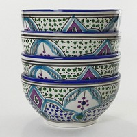 Le Souk Ceramique Malika 4-pc. Cereal Bowl Set