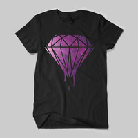 Blood Diamond Galaxy Logo Shirt Black and White Shirt Men or Women Shirt Unisex Size - NZR1