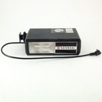 Vintage National PE-202 Camera Flash National Flash, Flash Attachment Made in Japan