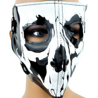 Skeleton Bones Gothic Biker Motorcycle Riding Full Mask