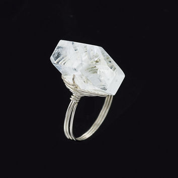 Freeform Quartz Ring - Women's Clothing & Symbolic Jewelry – Sexy, Fantasy, Romantic Fashions