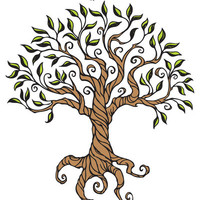 Shirley's Tree Art Print by Laurie A. Conley