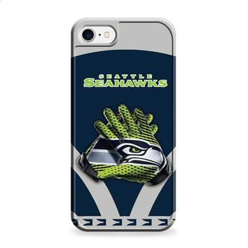Seattle Seahawks gloves blue grey iPhone 6 | iPhone 6S case