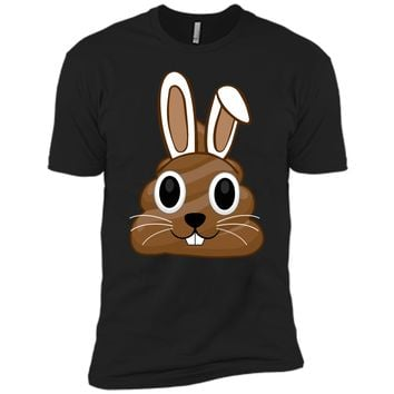 Easter Bunny Poop Emojis Shirt Gift Next Level Premium Short Sleeve Tee
