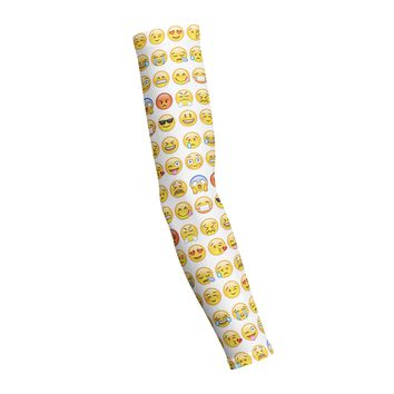 Smiley Emoji  Shooting Arm Sleeve