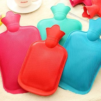 500ml 1000ml 1750ml 2000ml Rubber Hot Water Bottle Bag Hand Warmers Winter Warm