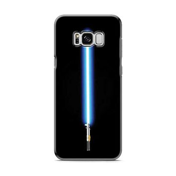 Stars Wars lightsaber blue Samsung Galaxy S8 | Galaxy S8 Plus Case