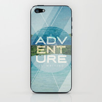 Adventure Is Waiting iPhone & iPod Skin by Misty Diller of Misty Michelle Design