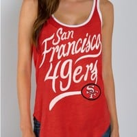 Junk Food Clothing - NFL San Francisco 49ers Tank - NFL - Collections - Womens