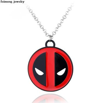 Deadpool Dead pool Taco  20pc/Lot Marvel   Standard Pendant Necklace Alloy Accessories High Quality Film Jewelry  Delivery AT_70_6