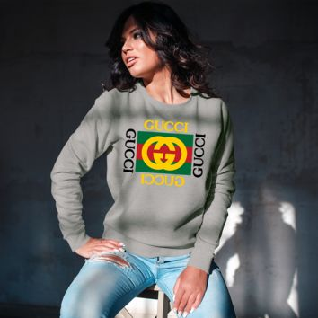 Gucci Inspired Unisex Crew-neck Sweatshirt [03062]