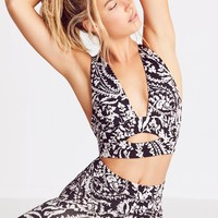 Free People Printed City Slicker Bra