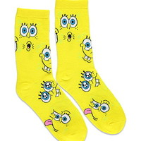 SpongeBob Graphic Crew Socks