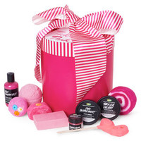Tickled Pink Wrapped Gift