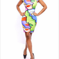 Strong Character One Piece Dress [4918574788]